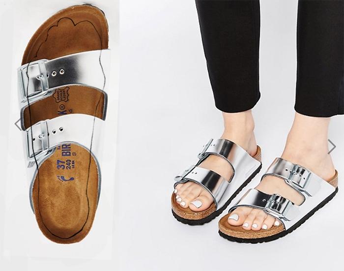 сандали шлепанцы узкая стопа ортопедические биркеншток