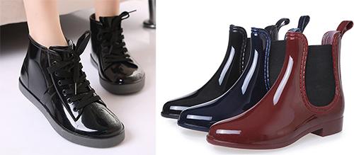 ботинки резиновые челси