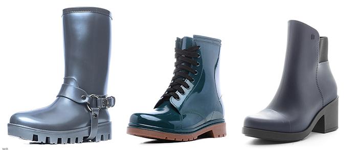сапоги резиновые интересные ботинки