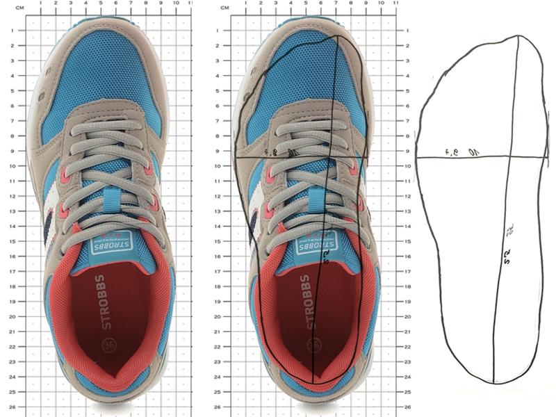 кросовки форма стопы