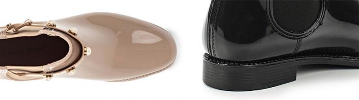 черные бежевые резиновые челси на узкую ногу