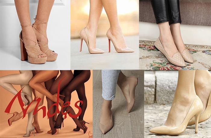обувь туфли балетки женская бежевый телесный в цвет ноги удлинять ноги
