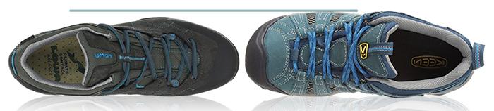 кросовки keen lowa сравнение широкая узкая стопа треккинг хайтинг туризм обувь