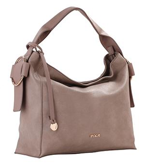 серо-коричневая сумка тауп базового цвета для цветотипа лето нейтрально-холодный приглушенный цвет