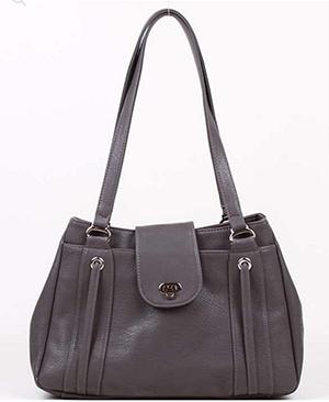 серая сумка, серо-коричневая, цвет коры, для цветотипа лето базового цвета