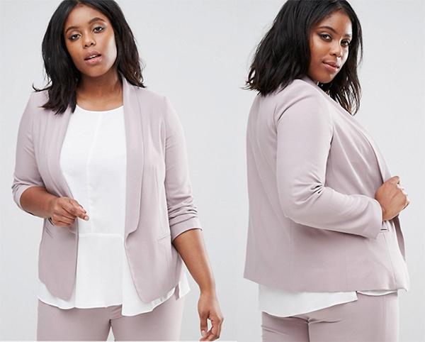 блейзер жакет пиджак женский для полных ростовка 178 см асос