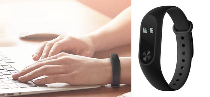 Xiaomi Mi Band 2, Black фитнес-браслет