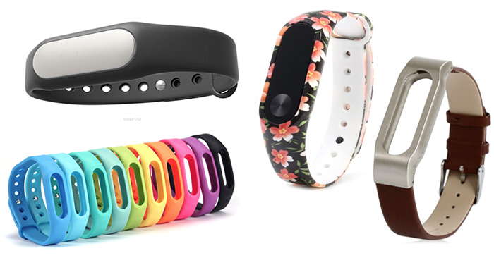 Xiaomi Mi Band фитнес-браслет цветные ремешки