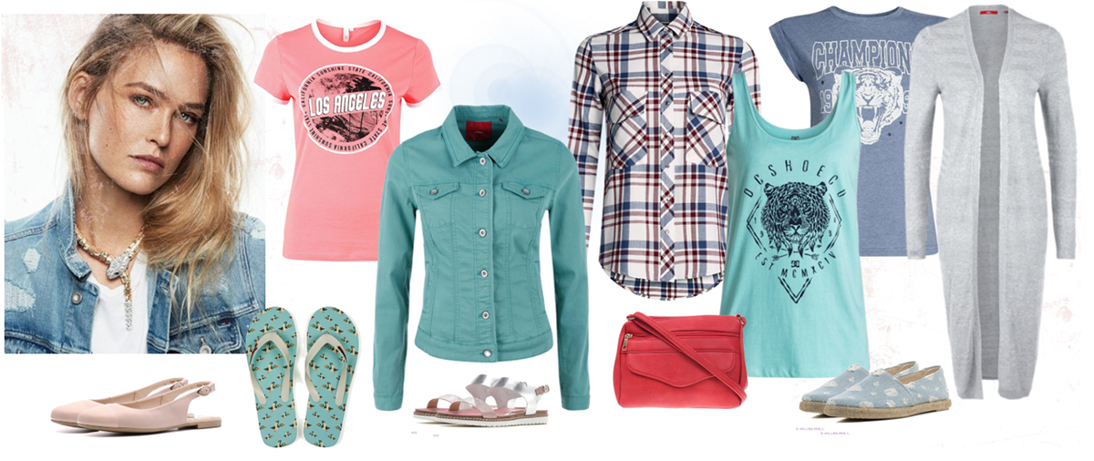 летний цветотип одежда
