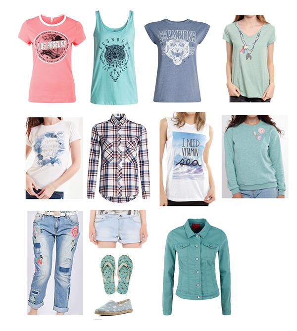 капсула повседневный гардероб цветотип лето декрет джинсы с вышивкой