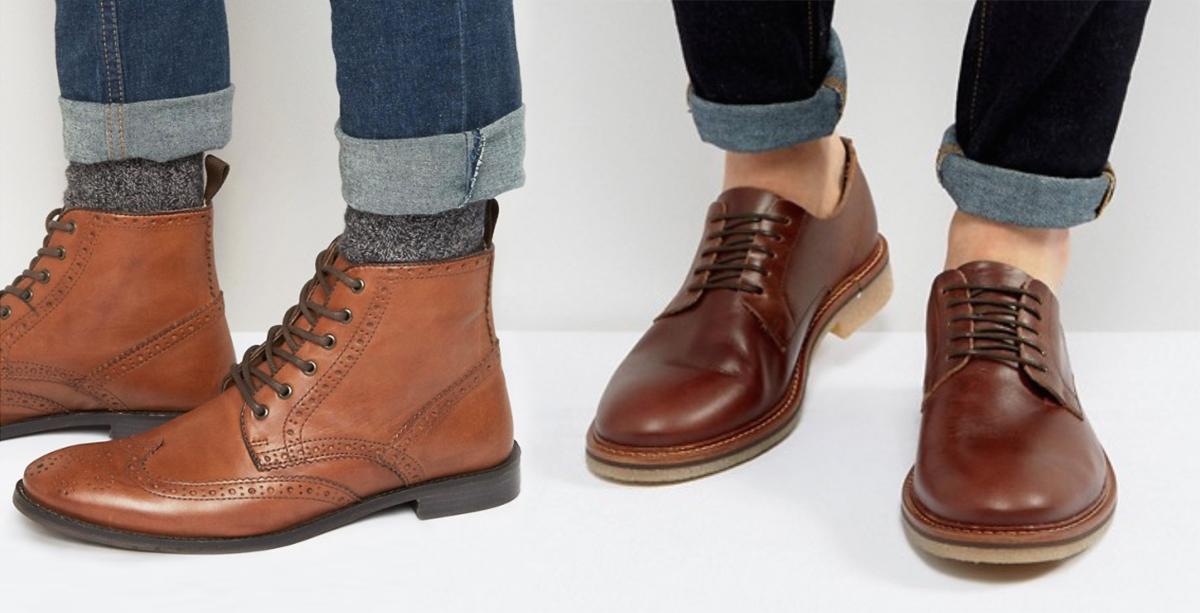 ботинки, полуботинки, кожаные, мужские, на узкую ногу, asos, высокие берцы, низкие берцы, дерби