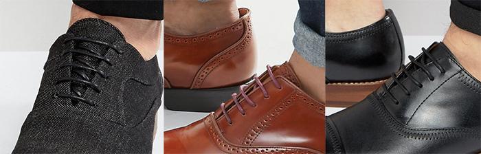 ботинки мужские оксфорды полуботинки пример шнуровки кожанные