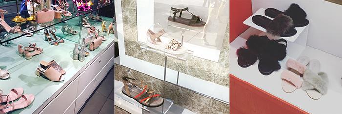 летняя обувь витрины лондона тренды 2017