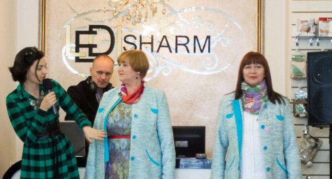 Домашний показ в магазине одежды плюс-сайз Леди Шарм