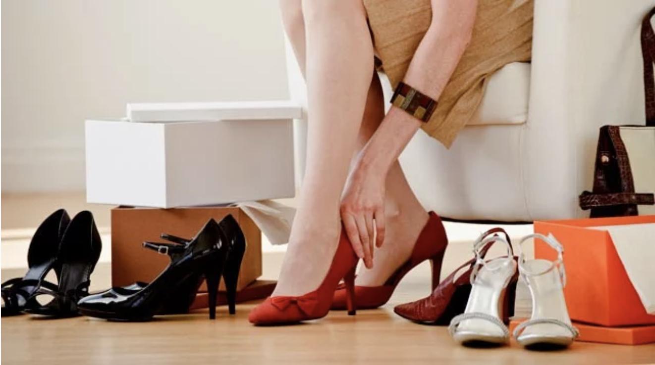 10 степеней сложности подбора обуви