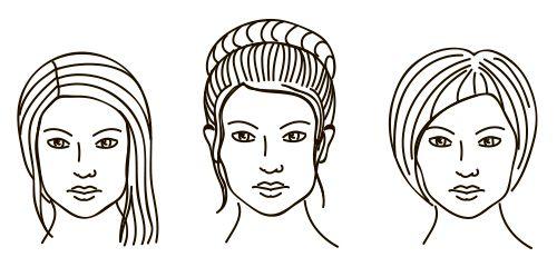 Прически и выгодные ракурсы для типа лица Алмаз
