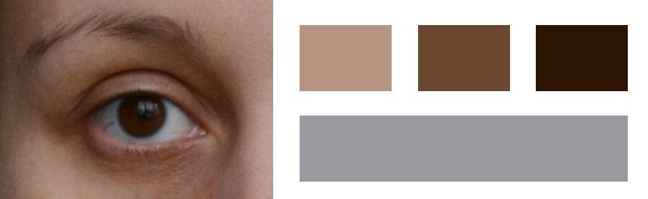 Синие белки глаз — зимний цветотип?