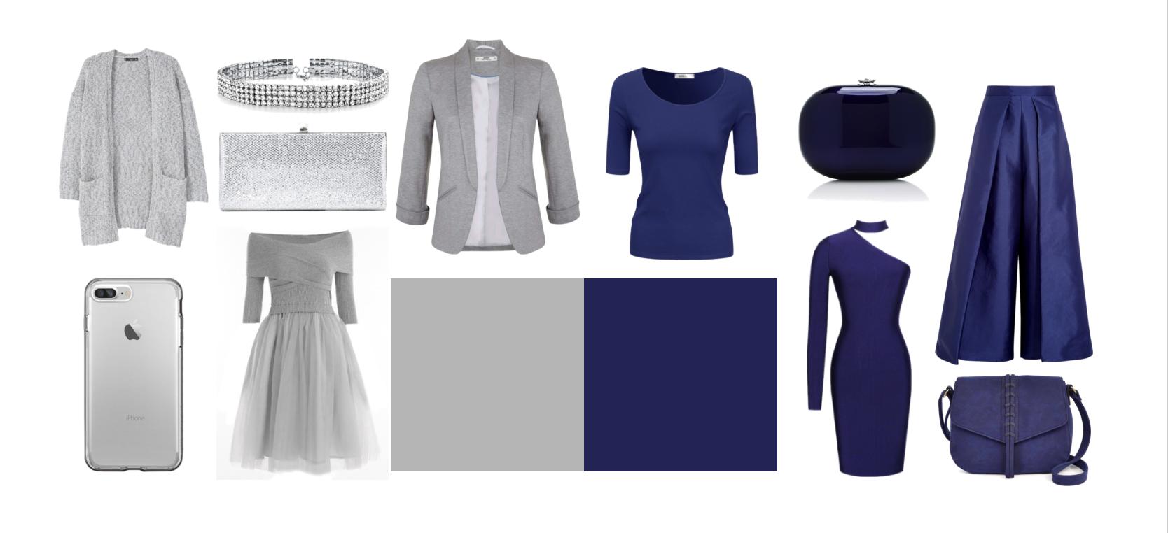 Отвратительное сочетание цветов: серый + синий.