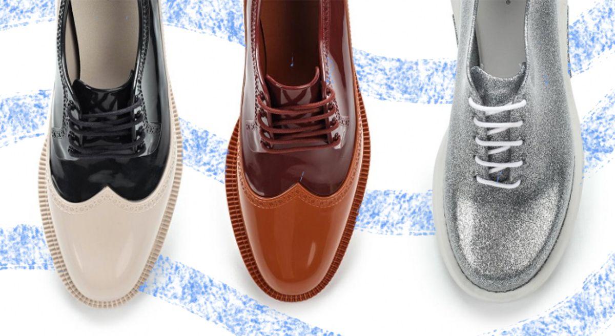 Резиновые ботинки со шнуровкой. Как выбирать и с чем носить.