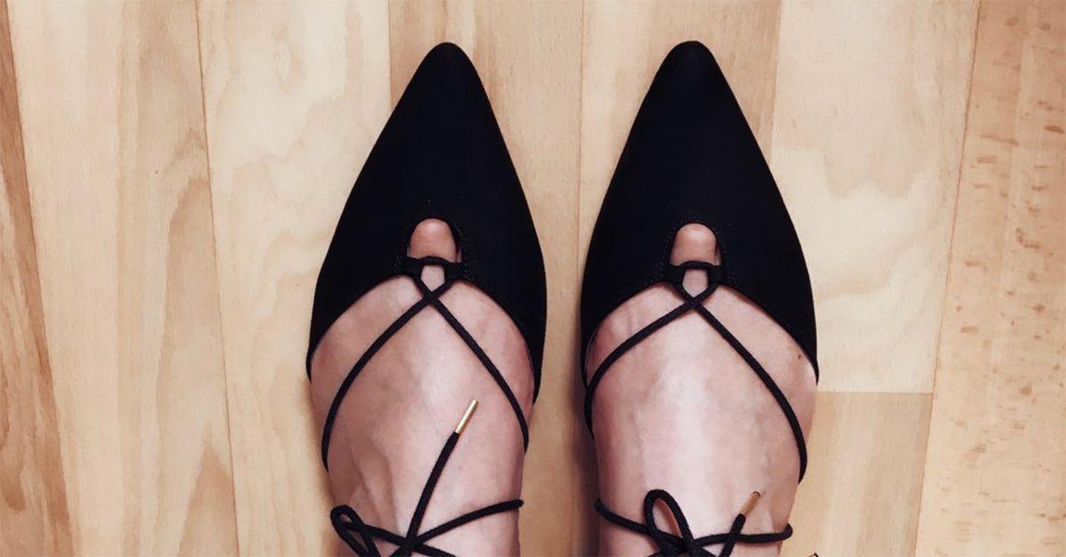 Обувь с острыми носами убивает ноги