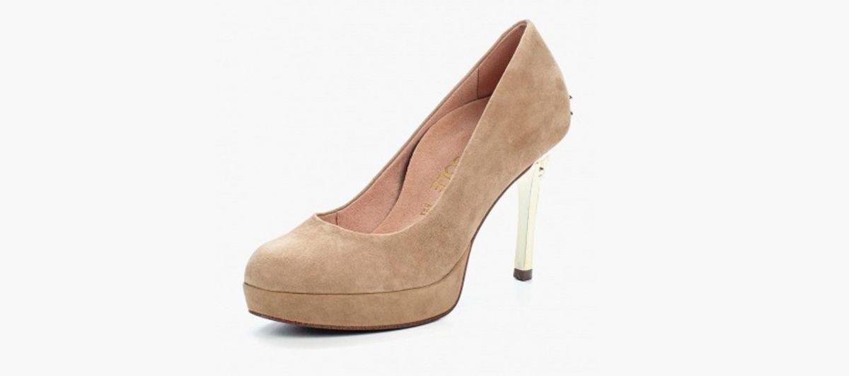 Туфли на каблуках с ортопедической стелькой