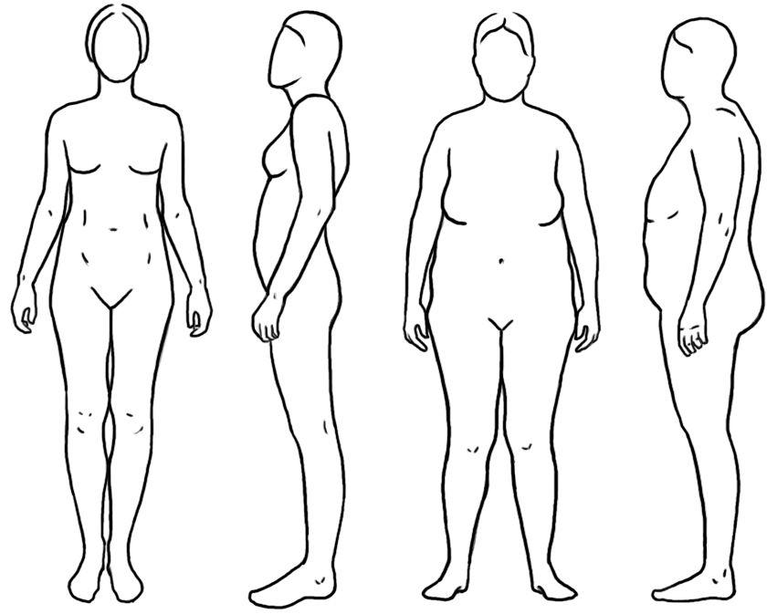 Хотите визуально уменьшить живот — начните с груди!