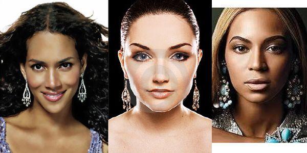 сережки-люстры тип лица алмаз