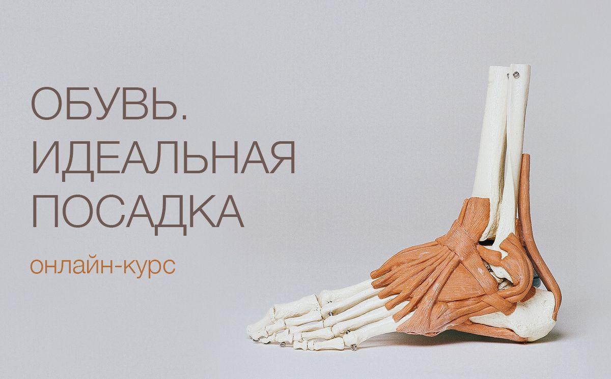 Обувь. Идеальная посадка (онлайн-курс)