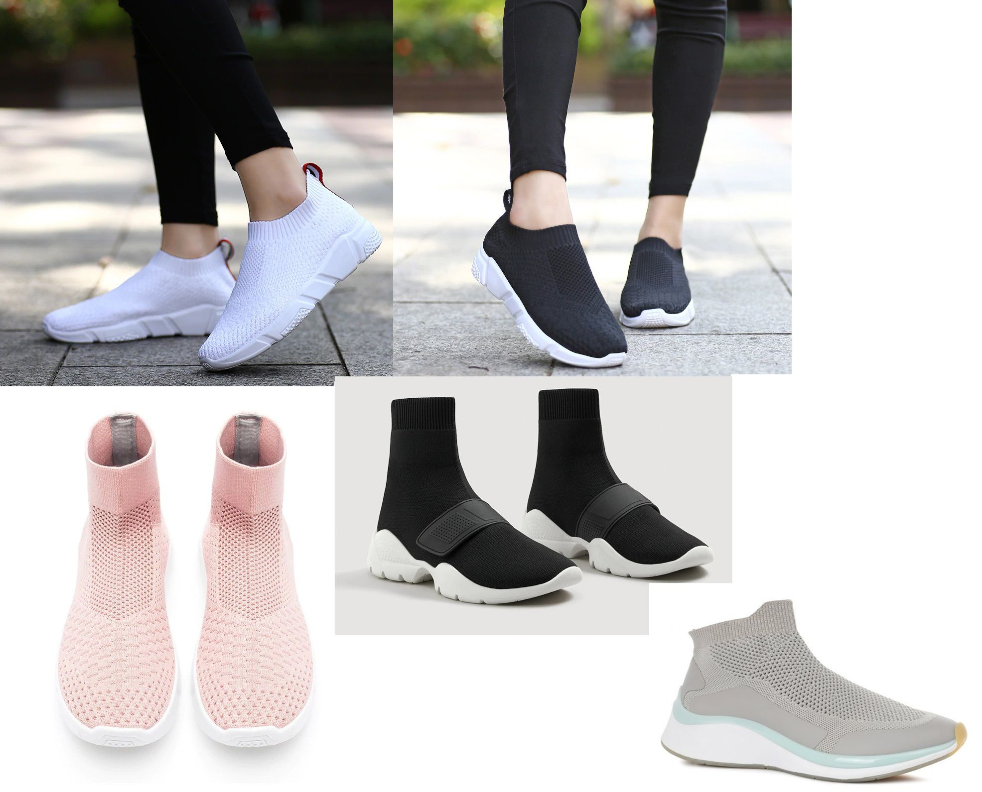 Могут ли кроссовки-носки быть базовой обувью?