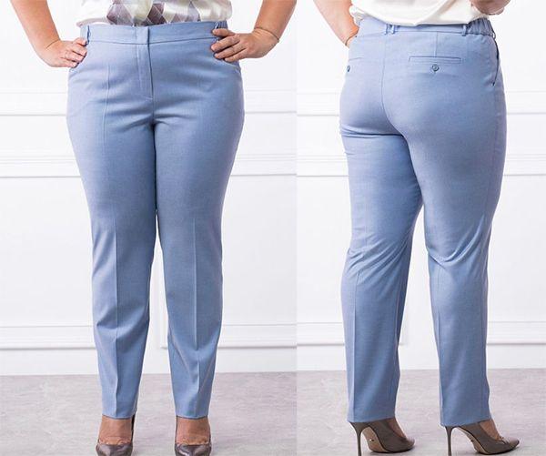 Почему брюки плохо сидят на женственных фигурах