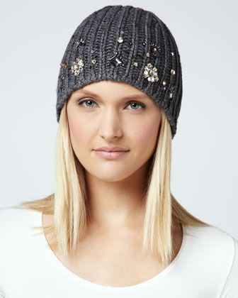 Вопрос стилисту про вязаные шапки