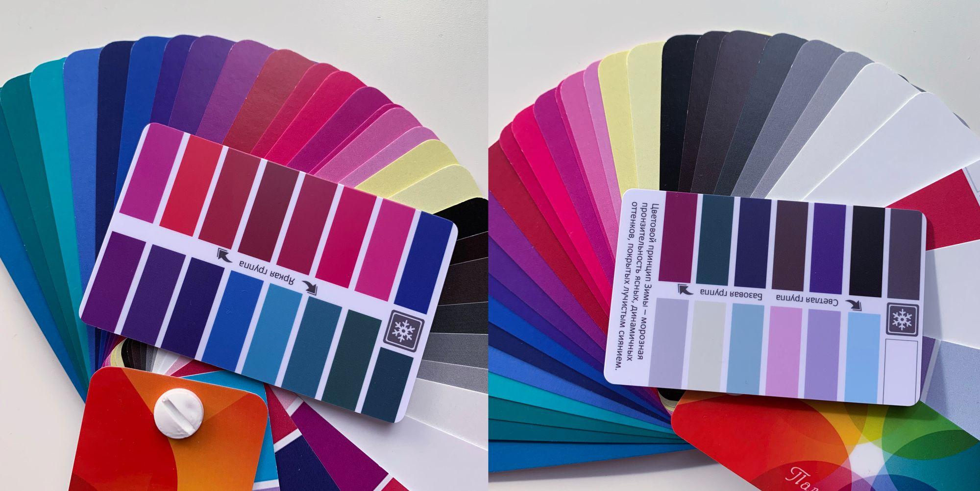 Обзор цветовых вееров Style Profi